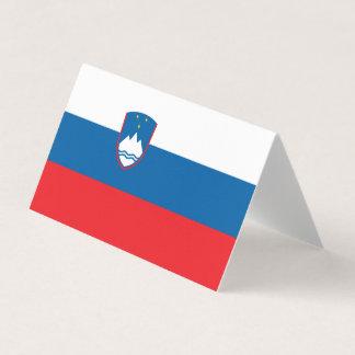 Slovenia Flag Card