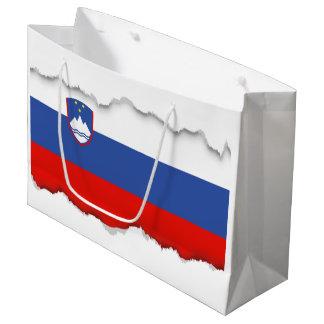 Slovenia Flag Large Gift Bag