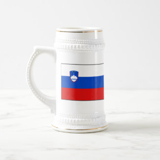 Slovenia Flag ~ Map Mug