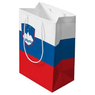 Slovenia Flag Medium Gift Bag