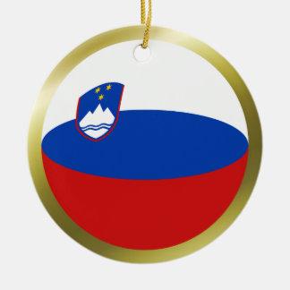 Slovenia Flag Ornament