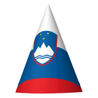 Slovenia Flag Party Hat
