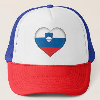 Slovenia Flag Trucker Hat