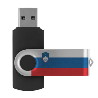 Slovenia Flag USB Flash Drive