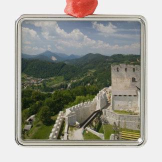 SLOVENIA, STAJERSKA Styria), Celje: Town View Metal Ornament