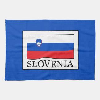 Slovenia Tea Towel