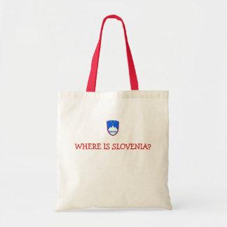 slovenia, WHERE IS SLOVENIA? Tote Bag