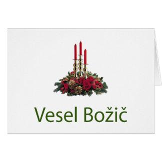 Slovenian Christmas Card