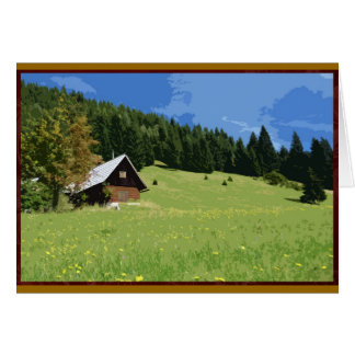 Slovenian countryside card