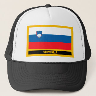 Slovenija Flag Trucker Hat