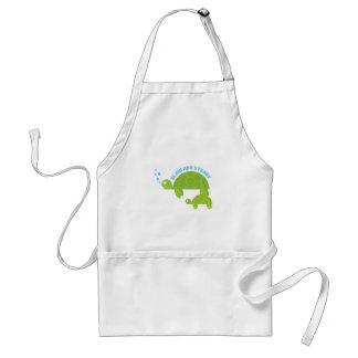 Slow and Steady Apron