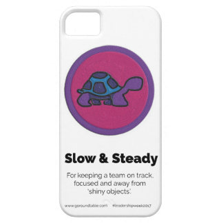 Slow and Steady Merit Badge Phone Case