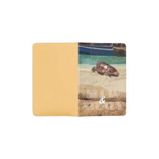 Slow and Steady Pocket Moleskine Notebook