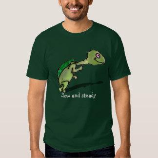 Slow and Steady Tee Shirts