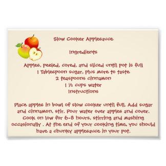 Slow Cooker Applesauce Photo Print