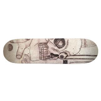 Slow Death Skateboard. 18.1 Cm Old School Skateboard Deck