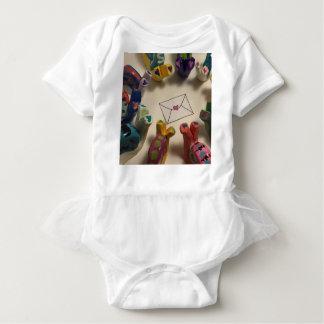 Slow Down Snails Baby Bodysuit