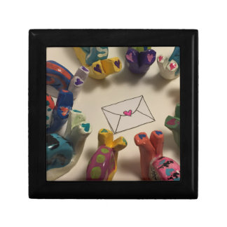Slow Down Snails Small Square Gift Box