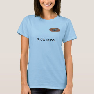 SLOW DOWN T SHIRT