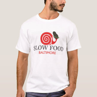 Slow Food Cotton T Shirt