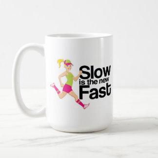 Slow is the New Fast Mug (Runner Girl)
