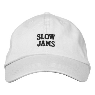 SLOW JAMS NEW GIRL EMBROIDERED HAT