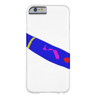 Slow Move Blue Chili Barely There iPhone 6 Case