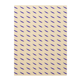 Slow Move Blue Chili Wood Canvases