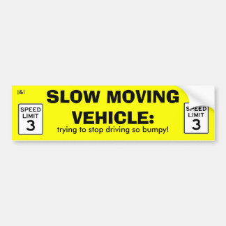 Slow Moving Vehicle sticker