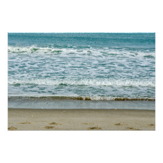 Slow Moving Waves Photo Print