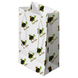Slow Pokes Cute Turtle and Snail Small Gift Bag