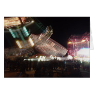 Slow Shutter Carnival Greeting Card
