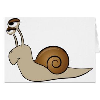 slow snail card