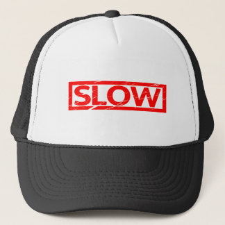 Slow Stamp Trucker Hat
