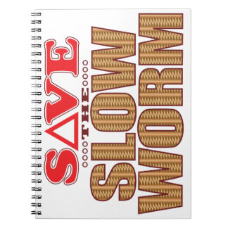 Slow Worm Save Note Books