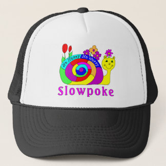 """Slowpoke"" Slowpoke The Snail Trucker Hat"