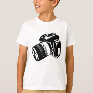 SLR Camera - Kids Tee (light)