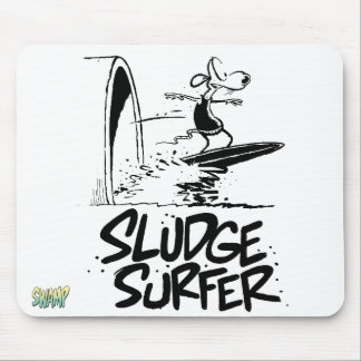 Sludge Surfing Forever Mousepad