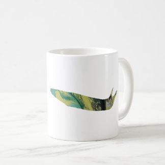 Slug art coffee mug