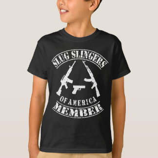 SLUG SLINGERS OF AMERICAN MEMBER ROCKERS T-Shirt