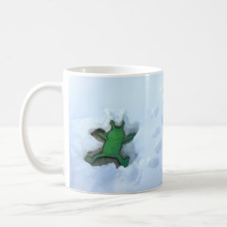 sluggo's snow angel mug
