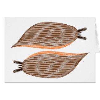 Slugs Greeting Card