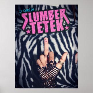'Slumber Tetek' Poster