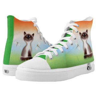 Sly Cat High Tops