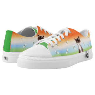 Sly Cat Low Tops