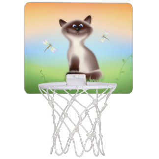 Sly Cat Mini Basketball Hoop