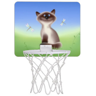 Sly Cat Mini Basketball Hoop