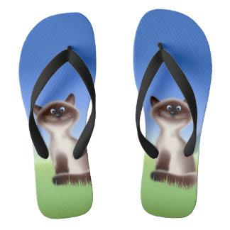 Sly Cat Thongs