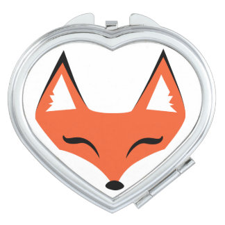 Sly Fox Face Compact Mirror