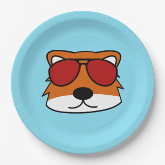 Sly Fox Paper Plate